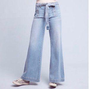 NWT Anthropologie Pilcro High Rise Wide Leg Jean